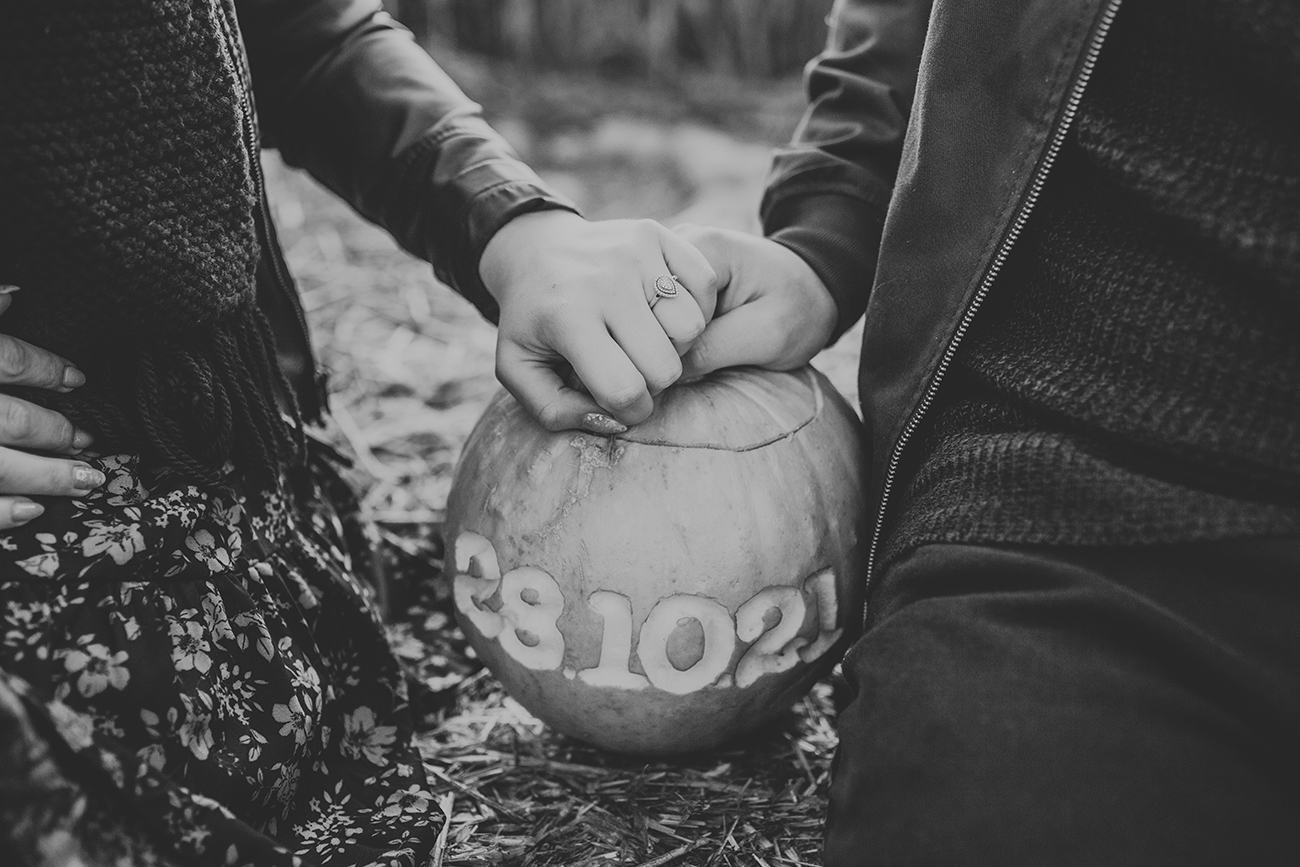 Uncle Henrys Pumpkin Patch Wedding Engagement Photography in Lincolnshire