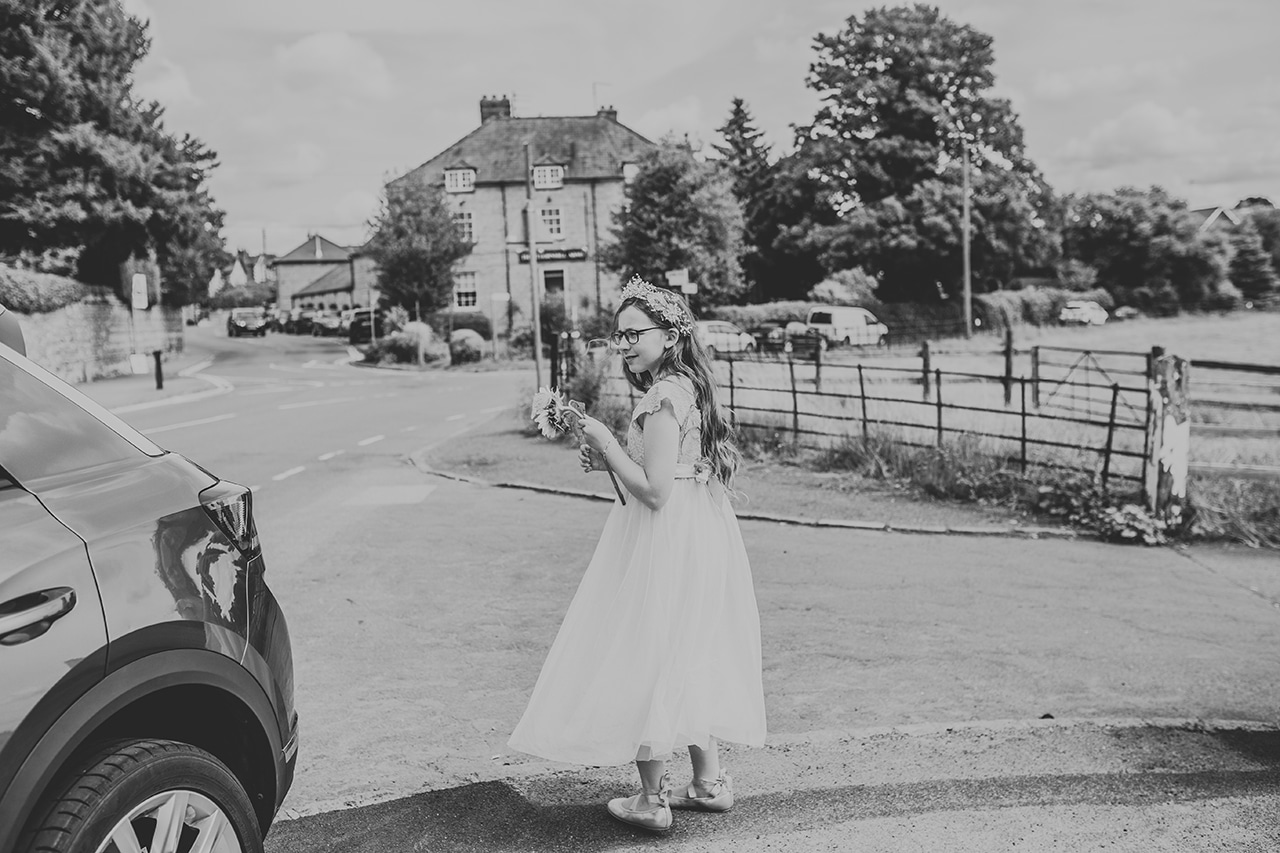 Rushton Church Wedding Photography