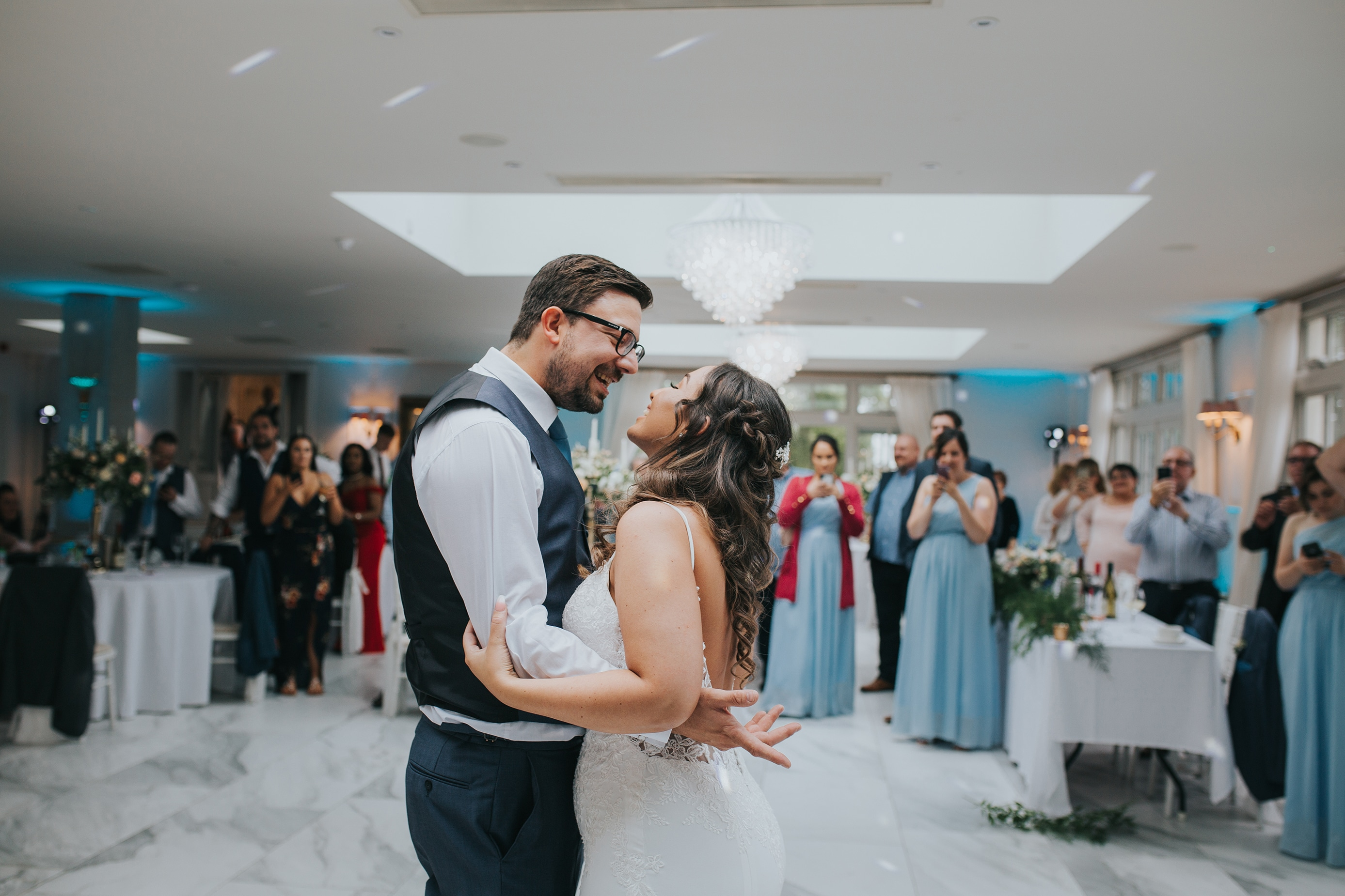 First Dance Photograph at Lemore Manor in Hereford