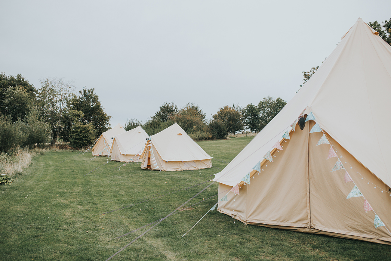 Furtho Manor Farm Wedding Camping Glamping