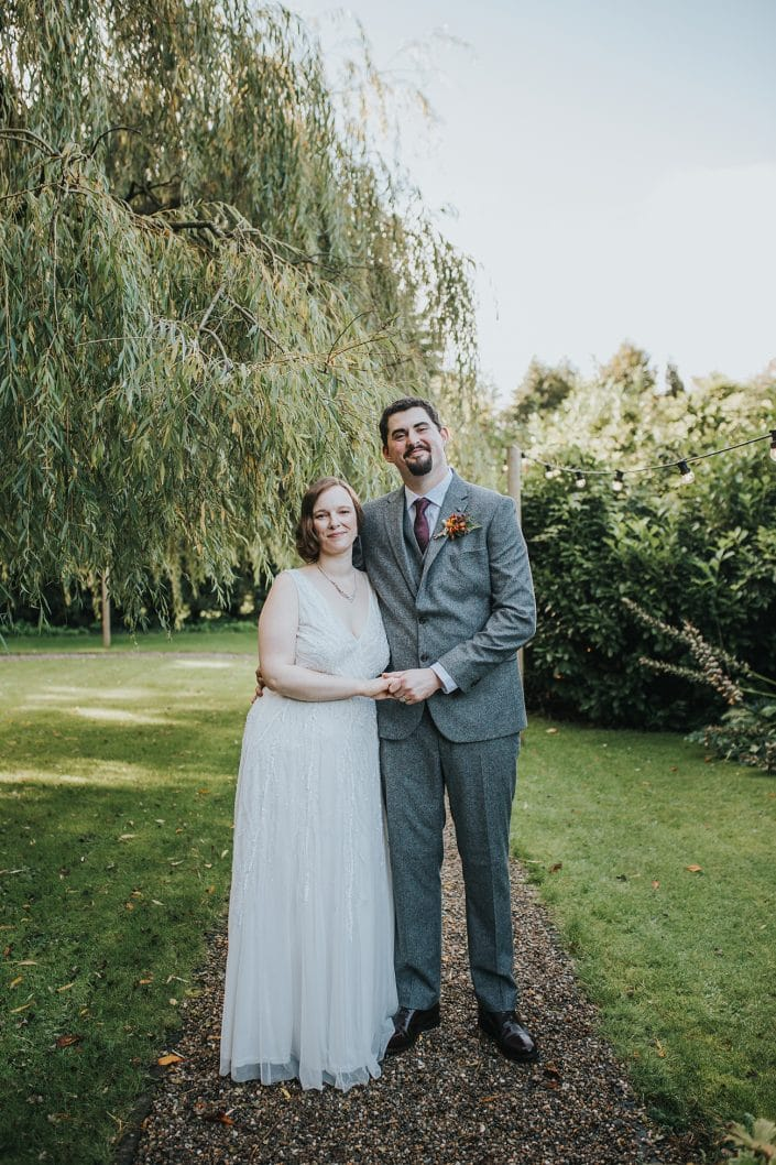 Bride and Groom Couple Shoot at Pendrell Hall Wedding Venue West Midlands