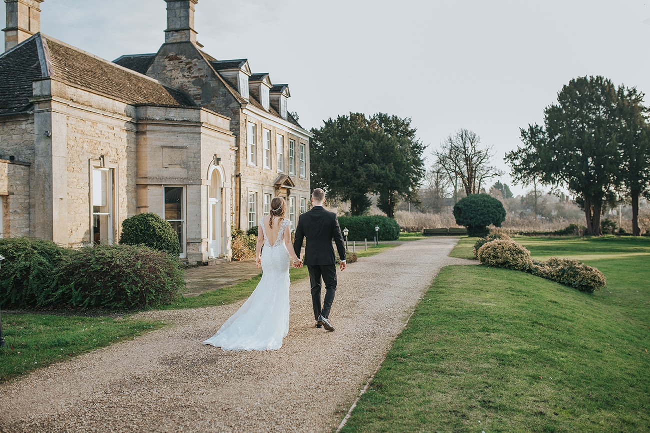 barton hall northamptonshire wedding photography bride and groom